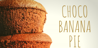 Συνταγή Σοκολατόπιτα Με Μπανάνα