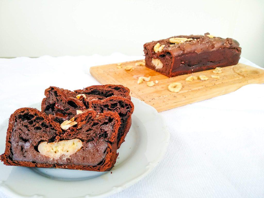 Κέικ με Αβοκάντο και Μπανάνα