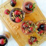 Κρέμα Φράουλας με Σοκολάτα